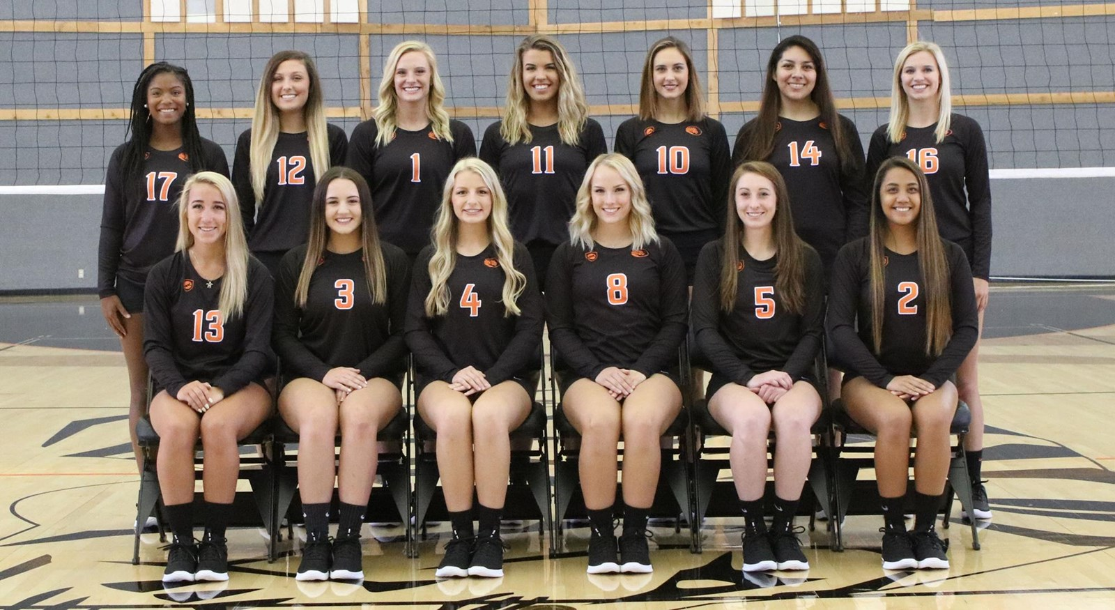 2018 Volleyball Roster East Central University Athletics