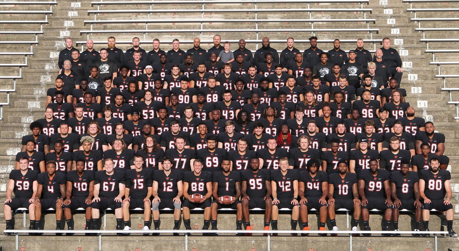 2018 Football Roster East Central University Athletics